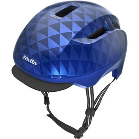 Electra Commute MIPS Helm blue triangles